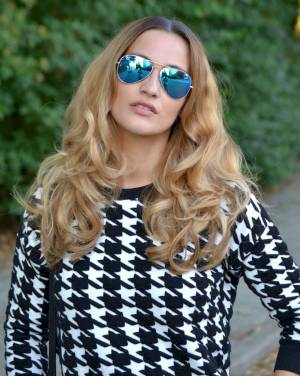 Houndstooth Love Image